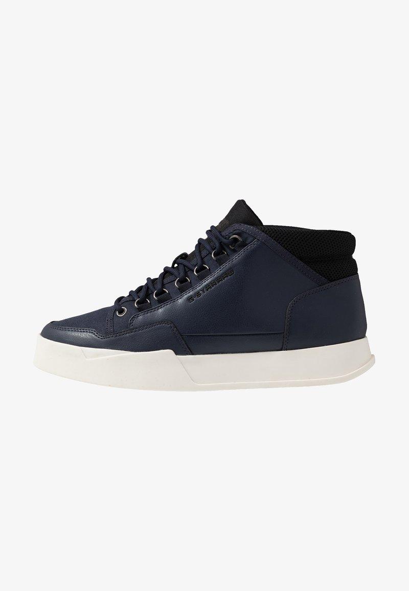 G-Star - RACKAM VODAN MID - Sneakersy wysokie - dark saru blue