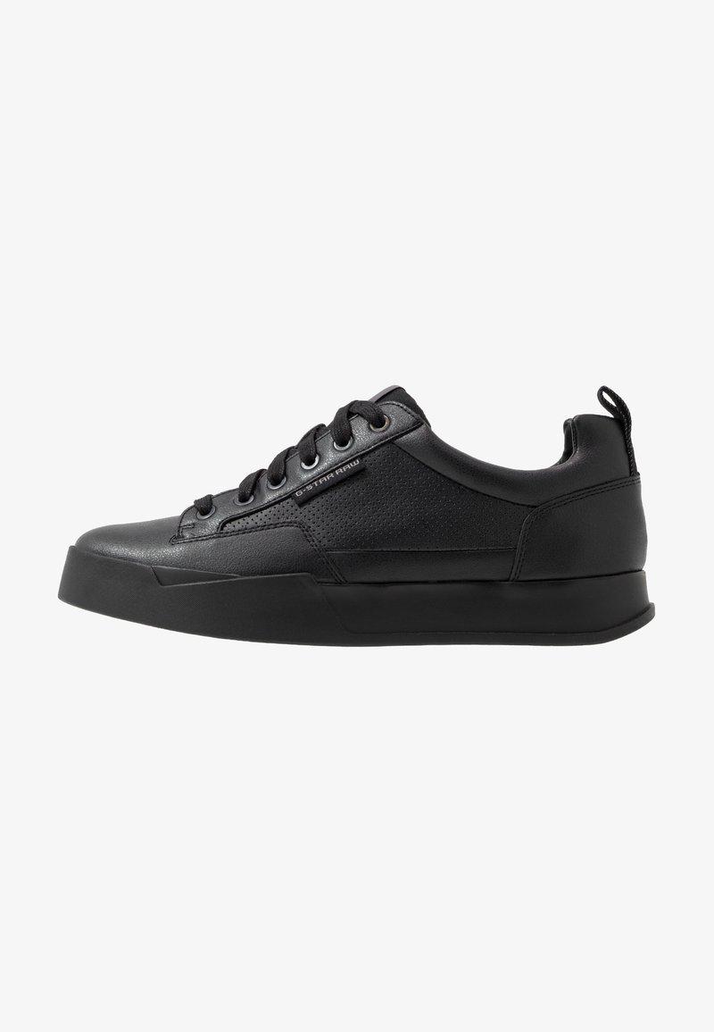 G-Star - RACKAM CORE LOW - Sneakers laag - black