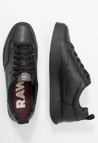 G-Star - RACKAM CORE LOW - Sneakers laag - black - 1