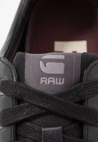 G-Star - RACKAM CORE LOW - Sneakers laag - black - 5