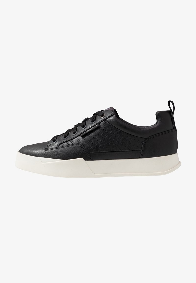 G-Star - RACKAM CORE LOW - Sneakers laag - black/white