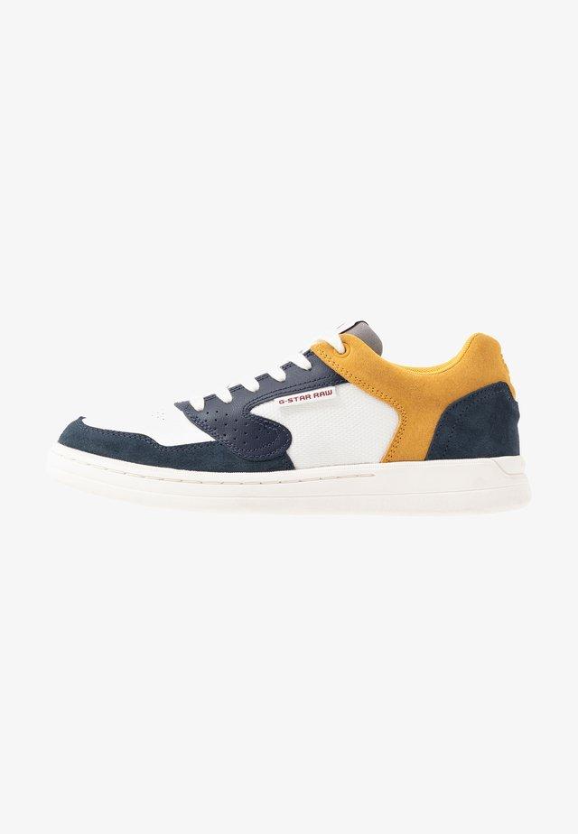 MIMEMIS  - Sneakers laag - mazarine blue/milk/yellow