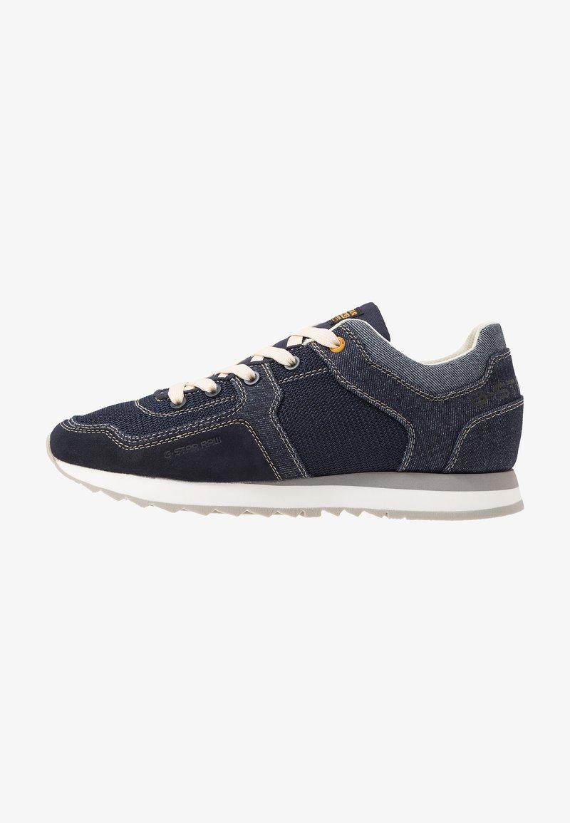 G-Star - CALOW DENIM II - Sneakersy niskie - dark saru blue