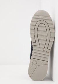 G-Star - CALOW DENIM II - Sneakersy niskie - dark saru blue - 4