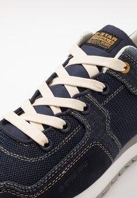 G-Star - CALOW DENIM II - Sneakersy niskie - dark saru blue - 5