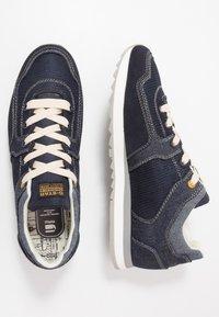 G-Star - CALOW DENIM II - Sneakersy niskie - dark saru blue - 1