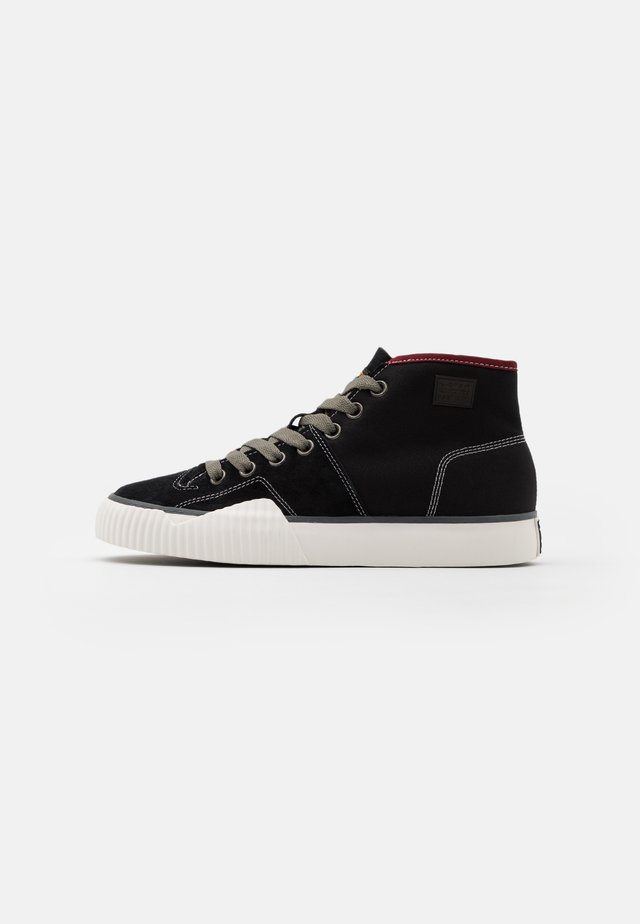 RACKAM ROOFER - Höga sneakers - black