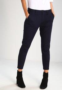 G-Star - BRONSON MID SKINNY CHINO  - Pantalon classique - mazarine blue - 0