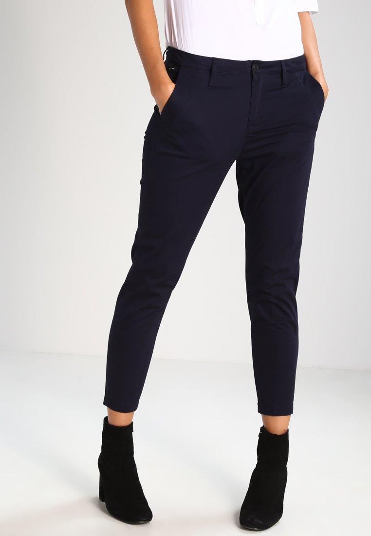 G-Star - BRONSON MID SKINNY CHINO  - Trousers - mazarine blue