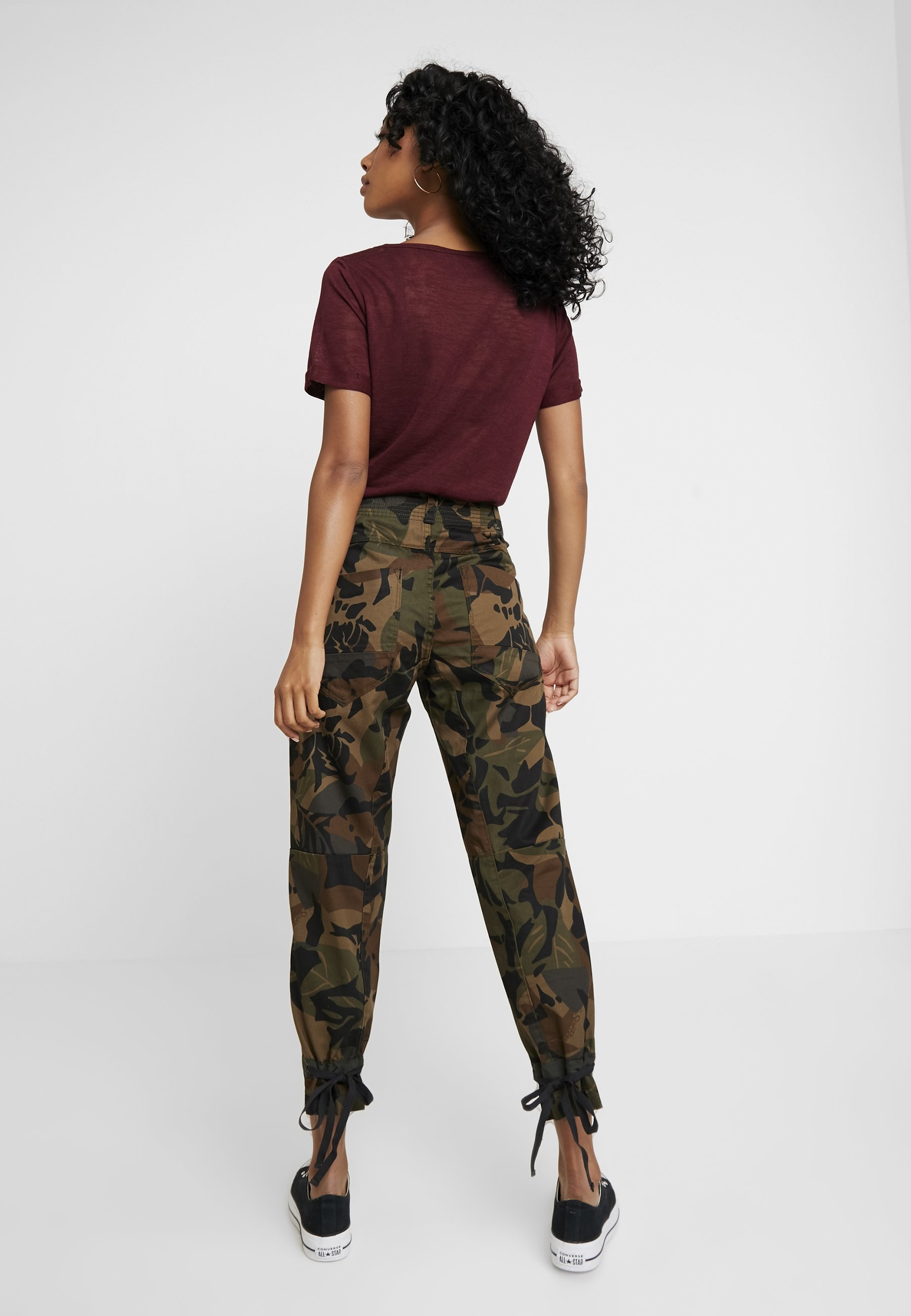 StrapJeans Wild Fuselé G forest Olive Radar star Night Army nwk8OX0NP