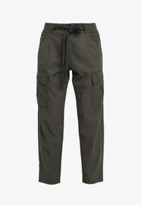 G-Star - CHISEL BF PANT WMN - Kalhoty - new drapy twill - 5