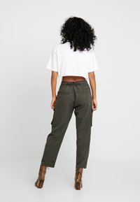 G-Star - CHISEL BF PANT WMN - Kalhoty - new drapy twill - 3
