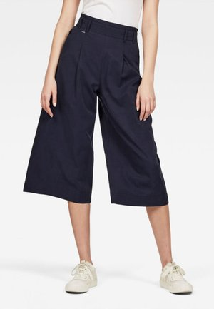 CULOTTE - Trousers -  blue