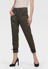 G-Star - ARMY RADAR BOYFRIEND STRAP - Broek - gray - 0
