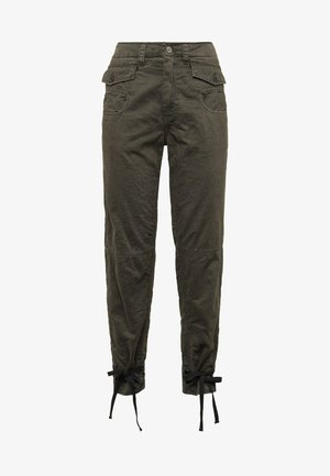 ARMY RADAR BOYFRIEND STRAP - Broek - gray