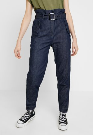 ROVIC HIGH PAPERBAG PANT - Trousers - rinsed