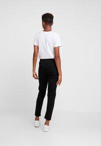 G-Star - STRIPE SKINNY PANT - Teplákové kalhoty - black - 2