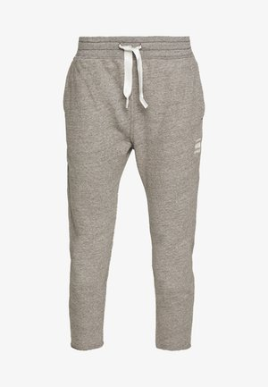 3D TAPERED CROPPED PANT - Tracksuit bottoms - avalanche heather