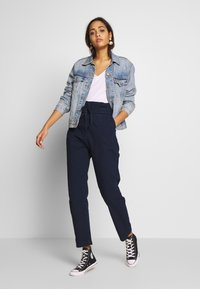 G-Star - PAPERBAG - Trousers - sartho blue - 1