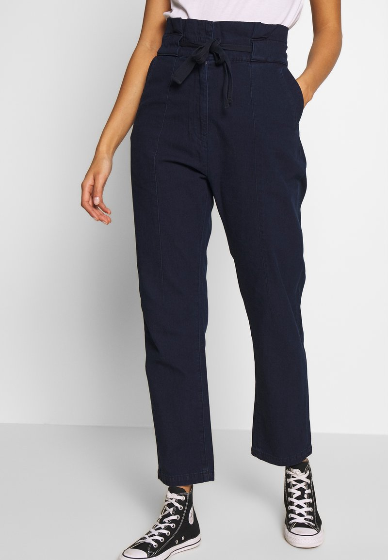 G-Star - PAPERBAG - Trousers - sartho blue