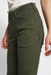 G-Star - BLOSSITE G-SHAPE ARMY HIGH SKINNY - Cargo trousers - algae - 4