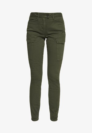 BLOSSITE G-SHAPE ARMY HIGH SKINNY - Cargo trousers - algae
