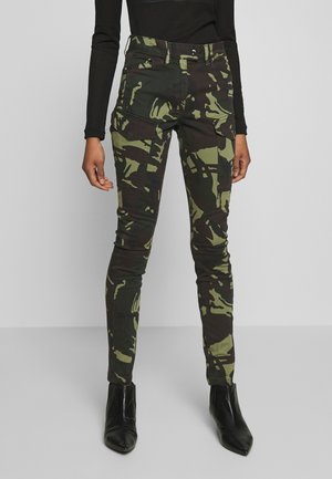 BLOSSITE G-SHAPE ARMY HIGH SKINNY - Cargobroek - khaki