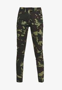 G-Star - BLOSSITE G-SHAPE ARMY HIGH SKINNY - Cargo trousers - khaki - 4