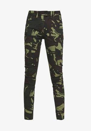 BLOSSITE G-SHAPE ARMY HIGH SKINNY - Pantaloni cargo - khaki