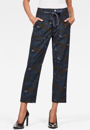 CHISEL MID BOYFRIEND ANKLE  - Trousers - blue