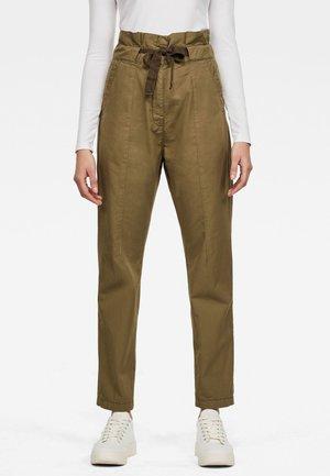PAPERBAG - Pantalon classique - smoke olive