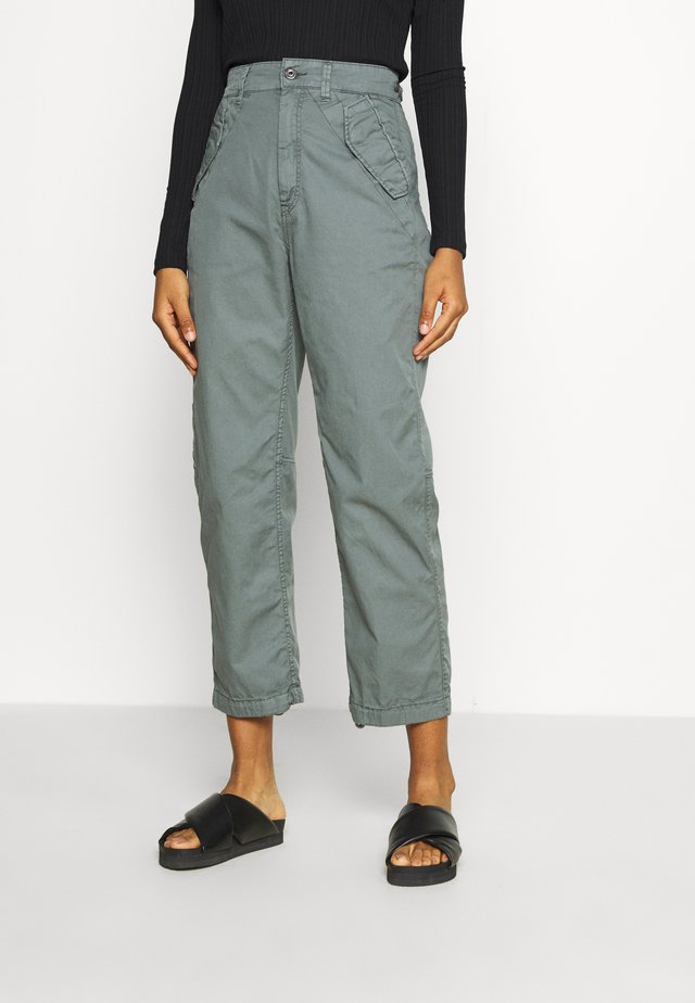 ARMY CITY MID TAPERED - Trousers - grey