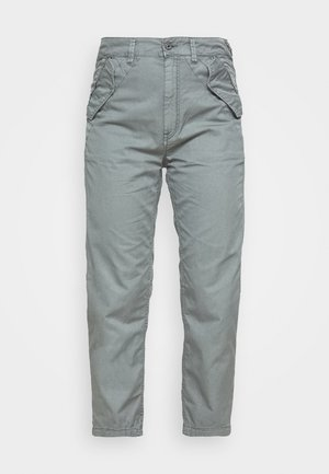 ARMY CITY MID TAPERED - Pantalon classique - grey