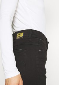 G-Star - 4311 MOTO HIGH STRAIGHT WMN - Straight leg jeans - black - 5