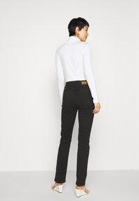 G-Star - 4311 MOTO HIGH STRAIGHT WMN - Straight leg jeans - black - 2