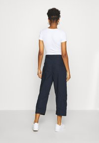 G-Star - UTILITY HIGH LOOSE CROP - Cargobukse - mazarine blue - 2