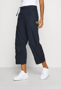 G-Star - UTILITY HIGH LOOSE CROP - Cargobukse - mazarine blue - 0