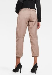 G-Star - ARMY CITY MID BOYFRIEND STRAIGHT - Trousers - lt skin gd - 1