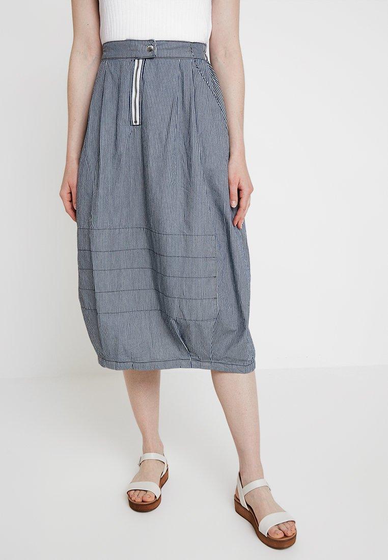 G-Star - PARACHUTE HA SKIRT - Puffball skirt - milk/indigo