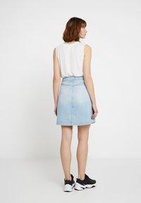 G-Star - 5622 WRAP SKIRT - A-line skirt - ultra aged - 2