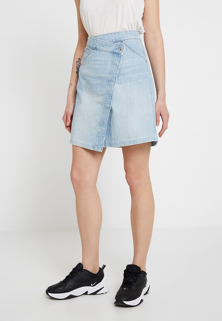 G-Star - 5622 WRAP SKIRT - A-line skirt - ultra aged