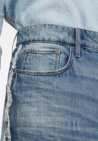 G-Star - 3301 Fringe Midi - Gonna di jeans - blue denim - 2