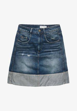 RADAR - Denim skirt - blue