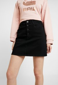 G-Star - NAVIK SKIRT POP - A-linjekjol - pitch black - 4