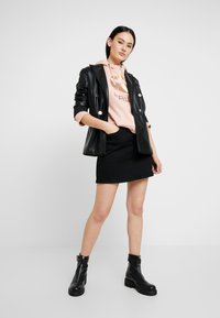 G-Star - NAVIK SKIRT POP - A-linjekjol - pitch black - 1