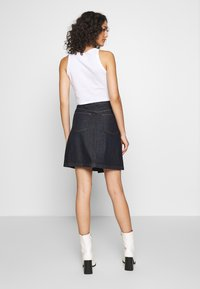 G-Star - WRAP SKIRT - Jupe trapèze - raw denim - 2