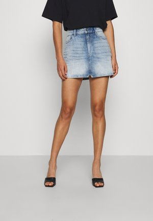 3301 HIGH MINI SKIRT - Jeansskjørt - sun faded arctic