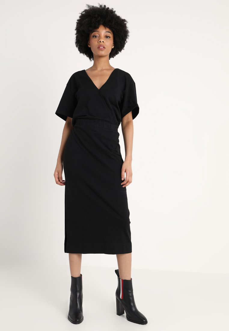 G-Star - BOHDANA DRESS - Jersey dress - black