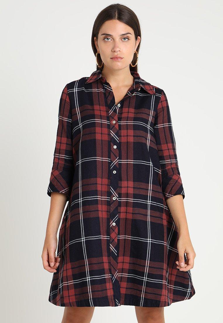 G-Star Robe chemise - multicolore indigo/russet brown/milk check