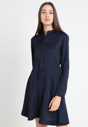 CORE FLARE DRESS L/S - Skjortklänning - sartho blue-6067